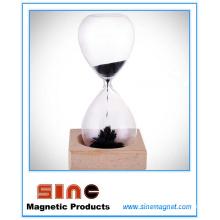 Reloj de arena de reloj de arena magnética creativa reloj de arena / regalo magnético