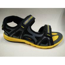 Sommer-Art- und Weisefreizeit-Strand-Sandelholz-Schuhe für junge Männer