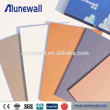 Tipos diferentes da largura de 2M de painel composto de alumínio perfurados