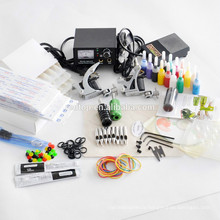 Wholesale Beginner Tattoo Ink Kit 2 Machine gun