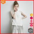 Latest fashion sleeveless pullover pattern free knitting sweater vest