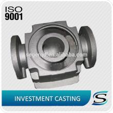 ISO9001 440C coulée en acier inoxydable