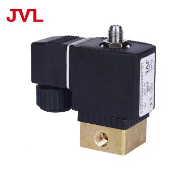 Brass 3 way solenoid valve 12v