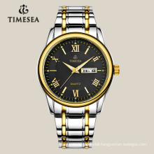 Classic Men′s Quartz Watch with Stainless Steel Band 72045
