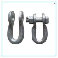 Grilhões de suspensão galvanizados de peças de reposição de aço de garra torcido