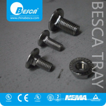 SS304 Besca Pan Screws And Countersunk Set Screws