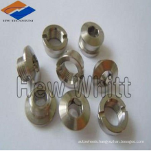 Titanium alloy nuts for racing industry
