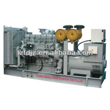 CE aprobó 600KVA Mitsubishi Open Type Diesel Generator Set