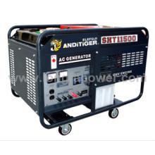 Elemax Modelo 10kVA Duplo Cilindro Gasolina Gasolina Gerador Elétrico