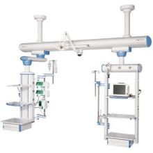 Sistema quirúrgico de colgante ferroviario ICU con secado seco