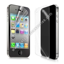 Front Back Clear Frosted LCD Screen Protector Guard Film For