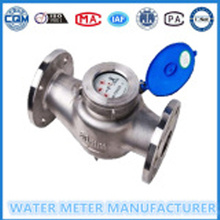 Dn50mm- 300mm Stainless Steel Flange Woltman WaterMeter