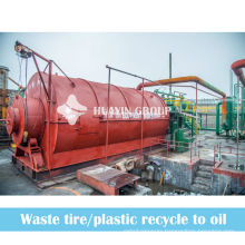 Energy Saving Waste Tyres Pyrolysis Recycling Machine
