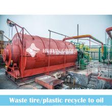 пластиковых отходов reycling отходов бумажного комбината с мазута пиролиза машина
