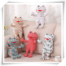 Manual Cotton Fabric Frog Prince Toys for Promotion Gift