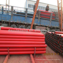 Sany Concrete pump harden pipes,3 meter,st-52and flanged