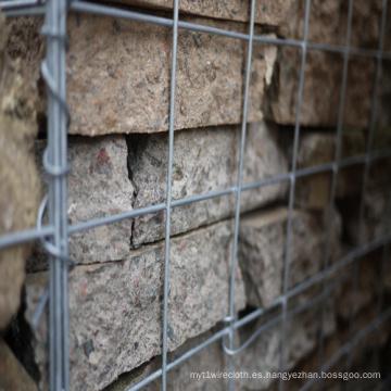 Jaula soldada de la piedra de Gabion, proveedor de Gabion de Stone Cage