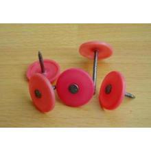 Runde Kunststoff-Nagel mit verschiedenen Farben