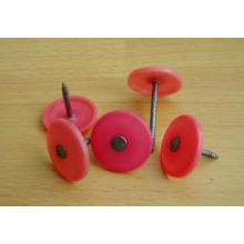 Round Plastic Cap Nails with Different Color