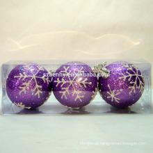 Esfera decorativa de espuma de natal