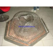 Corde à boucle en acier inoxydable (usine)