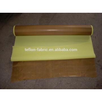 Cintas de tela de teflón sin adhesivo con adhesivo con revestimiento