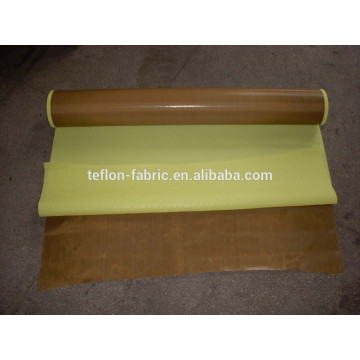 Non stick teflon fabric tapes with adhesive with liner