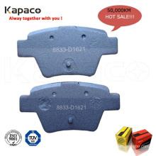 Kapaco brake pad manufacturer of disc brake pad price 8833-D1621