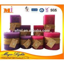 Bougie pilier parfumée longue durée à vendre