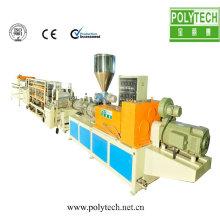 PVC/ASA vernissee tile faisant la machine