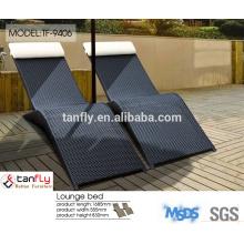 outdoor garden furniture wicker round rattan heart daybed
