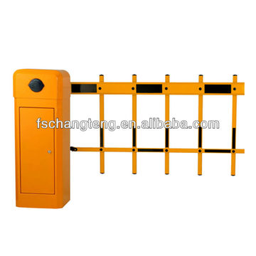barrier gate with 2 fence arm