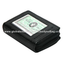 Brand New Leather Credit Card Holder Wallet, Sized 120x95mmm, Easy to Carry