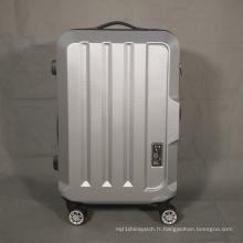 Big Logo Position Sac de voyage avec roues à spinner ABS Zipper Luggage