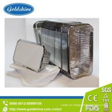 Tapa del tablero del envase del papel de aluminio de la categoría alimenticia