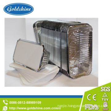 Food Grade Aluminum Foil Container Board Lid