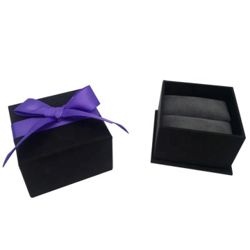 Partihandel Ring Förpackning Box Med Ribbon Bow