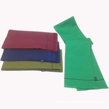 Écharpe chinoise imprimée par polyester de double tube latéral avec la frange