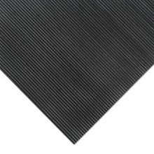 High Quality Thin Ribbed Anti Slip Industrial Rubber Flooring