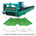 Joint Hidden Boltless Roof Panel Roll Forming Machine
