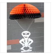 Glückliches Halloween-Dekorations-Einzelteil-Seidenpapier-Bienenwabe