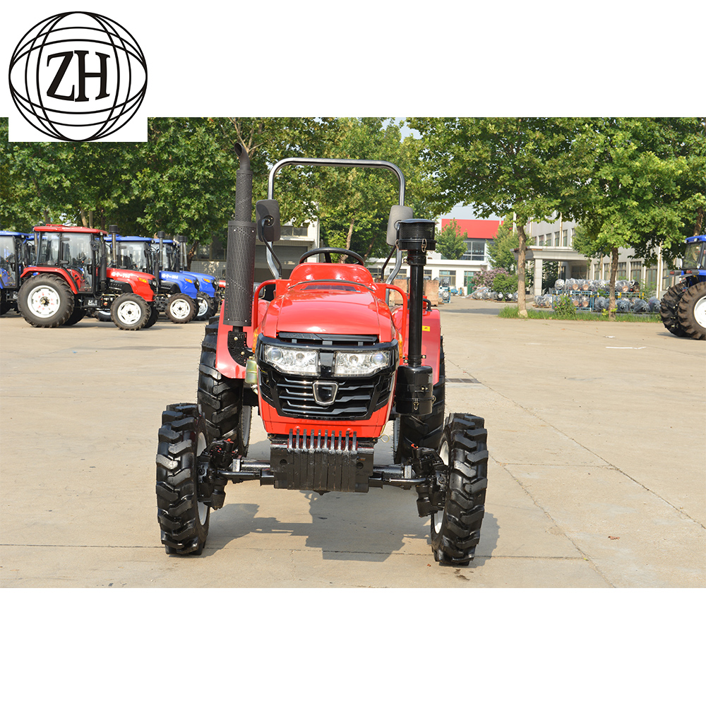 Red Brand New Farmall Tractors : China farm used red brand new wd tractor high quality