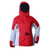 Woman's Ski Jacket, 100% Polyester, Waterproof, Taped Seams, WarmNew