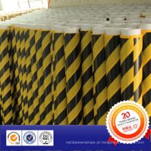 Fita PVC de 2015 envolvendo o rolo de fita de advertência