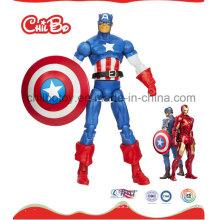 Muñeca plástica del capitán América (CB-PD005-S)