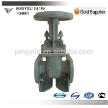 Gost cast steel handle gate valve pn16 Z41H-16C