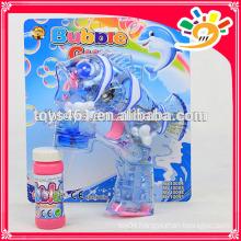 Transparency plastic bubble gun,animal fish design bubble gun toys for children