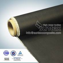 27oz 1mm fireproof black acrylic coating fabric