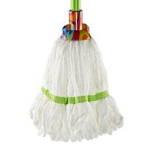 Limpeza de alta qualidade Refil Mop Redonda Cabeça Branca Microfibra Mop