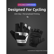 Cycling Gloves Half Finger Shockproof Wear Resistant Breathable MTB Road Bicycle Gloves Men Women Sports Bike Equipment
